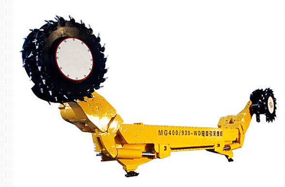 Continuous coal mining machine