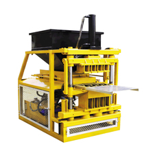 QT4-10 stabilized soil lego hydraform brick making machine in ghana