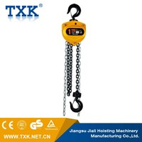 TXK China lightweight manual chain pulley block CB-B 0.5ton Chain Block