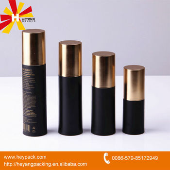 Airless pump bottles 15ml plastic cosmetic