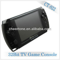 32bit video game with camera function the newest pv mini game player with mq3,mq4