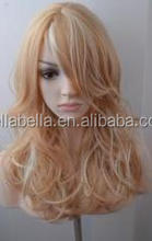 New trend wholesale cheap price fluffy inflatable wig