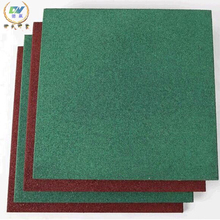 Various colored heavy duty rubber flooring for gym and garage
