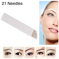 CHUSE S21 Cartridge Eyebrow Tattoo Microblade 21 Pins For Shape