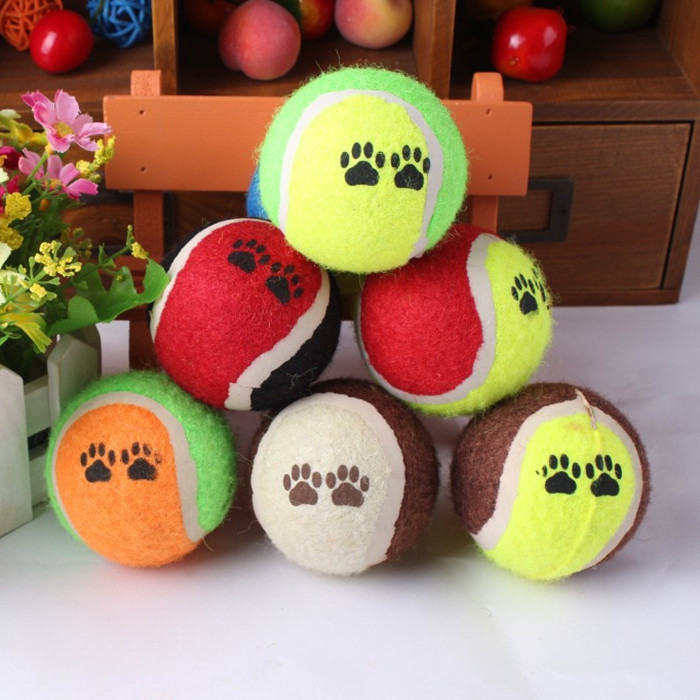 Best Selling Pet Product Stocking Traing Toy Dog Tennis Ball