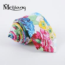 Hot sale designable custom flower floral oem cotton tie