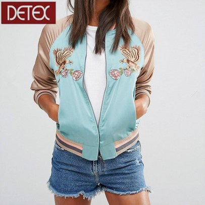 European Style Custom Bomber Varsity Jacket For Women