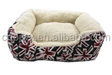 Fashion pet bed seasons available indoor linen dog product pet bed