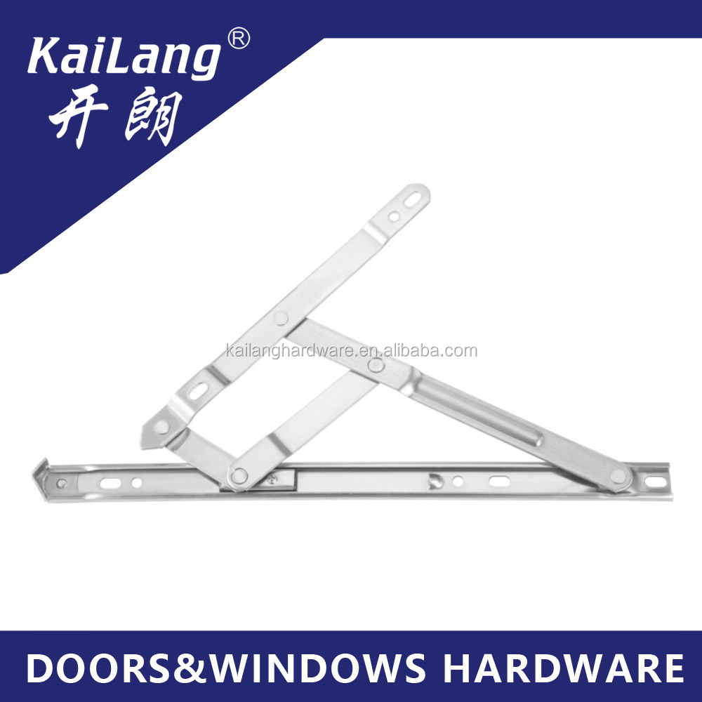 Flat open 19 circular groove stainless steel slide series friction hinge