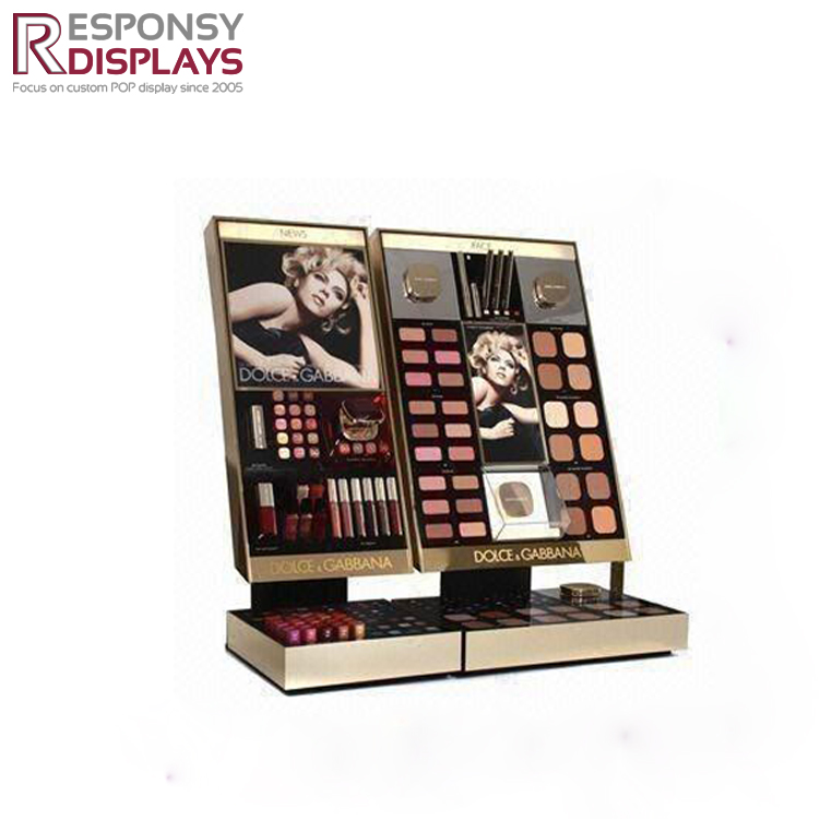Acrylic Lipstick Blusher Cosmetic Display Holder