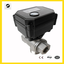 Auto control electric ball valve for Leak detection&water shut off system,Water saving system