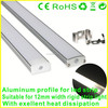 LED Aluminum extrusion profile for led strips light, OEM Length!