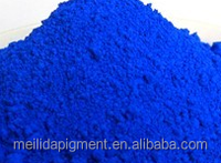 reddish water based dispersed blue pigment concrete pigment