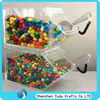 hot sell acrylic candy dispenser/food storage box, acrylic sweets bins