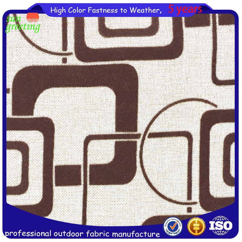 outdoor flocking fabric for sofa & cushion