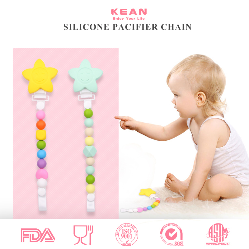 New Design Fashion BPA Free Silicone Pacifier Baby Items