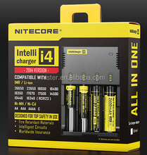 New Arrival Nitecore New I4 Universal rechargeable 3.7V Li-ion Battery charger, 18650 battery charger