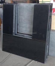 cheapest black polished granite Hearth