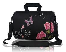 LT0829 Customized Flower Design Laptop Bag Notebook Sleeve Good Quality