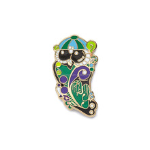 TR Night Owl Size Comp copy Animal Lapel Pin