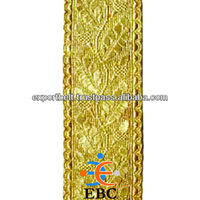 SLEEVE RANK TUNIC GOLD BRAID | Braid, Gold Gilt Metal wire