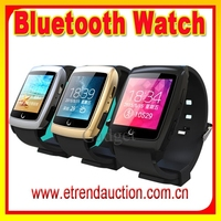 2015 Newest Arrival Smart Wristwatch For IOS Android Dual-core Touch Screen GPS Wifi Internet Bluetooth Smart Watch U18