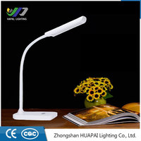 2016 New Adjustable USB Rotation LED Reading Light Clamp Bed Table Desk Touch Lamp