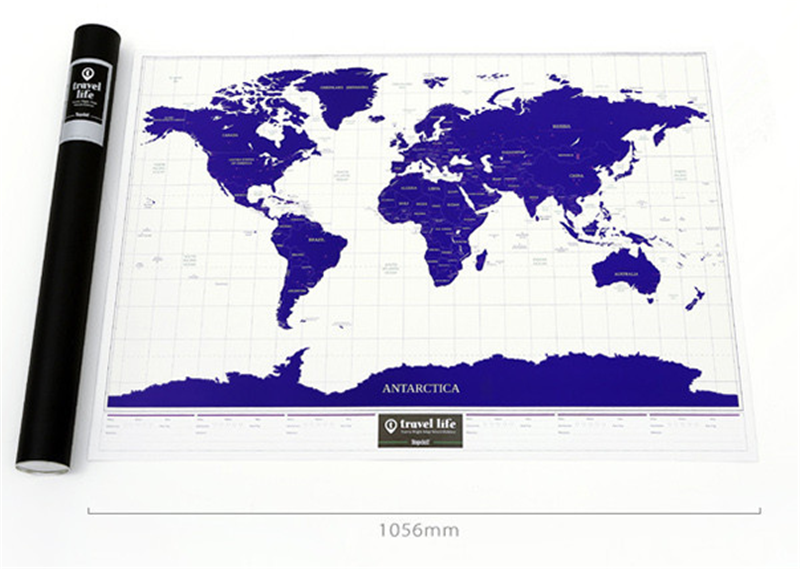 CT-543 Starlight Map Travel Globe World Map Travel map