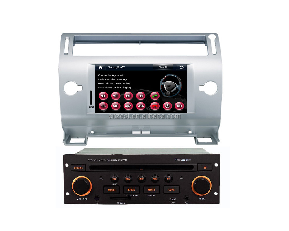 for citroen c4 2 din car dvd with autoradio car dvd gps navigation car multimedia player tv. Black Bedroom Furniture Sets. Home Design Ideas