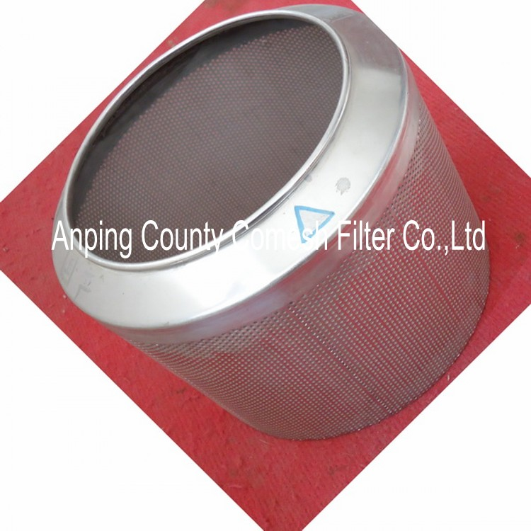 Stainless Steel Screen Filter Tube/Perforated Filtering Cylinder