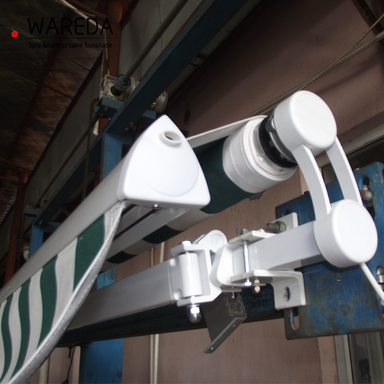 motorized outdoor full cassette retractable canopy awning