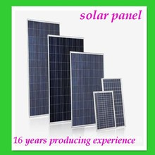 250 watt solar panel solar panel system for big projects and power plant with factory direct sale