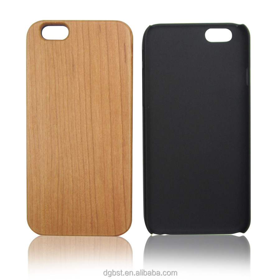 HOT Laser Engraving Blank Custom Design Wholesale Cell Phone Case For Iphone 6 Wood Case