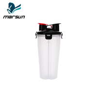 Best Seller Capacity 700 ml Multiple Colors Available Protein Powder Shake Cup Workout Cup Plastic Cup Has Two Sips