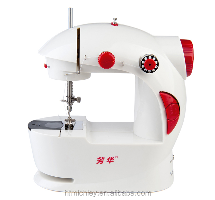 fhsm 201 household mini electric handheld second hand overlock sewing machine