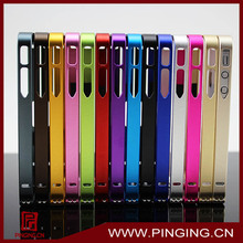 aluminum metal bumper case cover for iphone 4g 4s