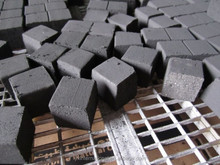 low ash Cube Charcoal for Hookahs/incense burners