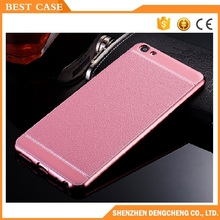 Best price electroplating leather back cover case for vivo v5