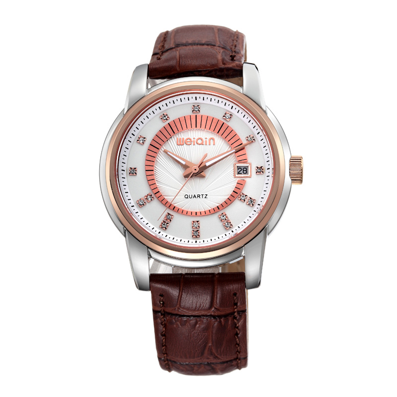 Hot selling genuine leather watch