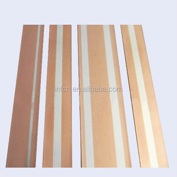 Electrical contact strip