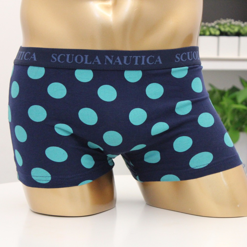Spandex cuecas boxer underwear men with all over print