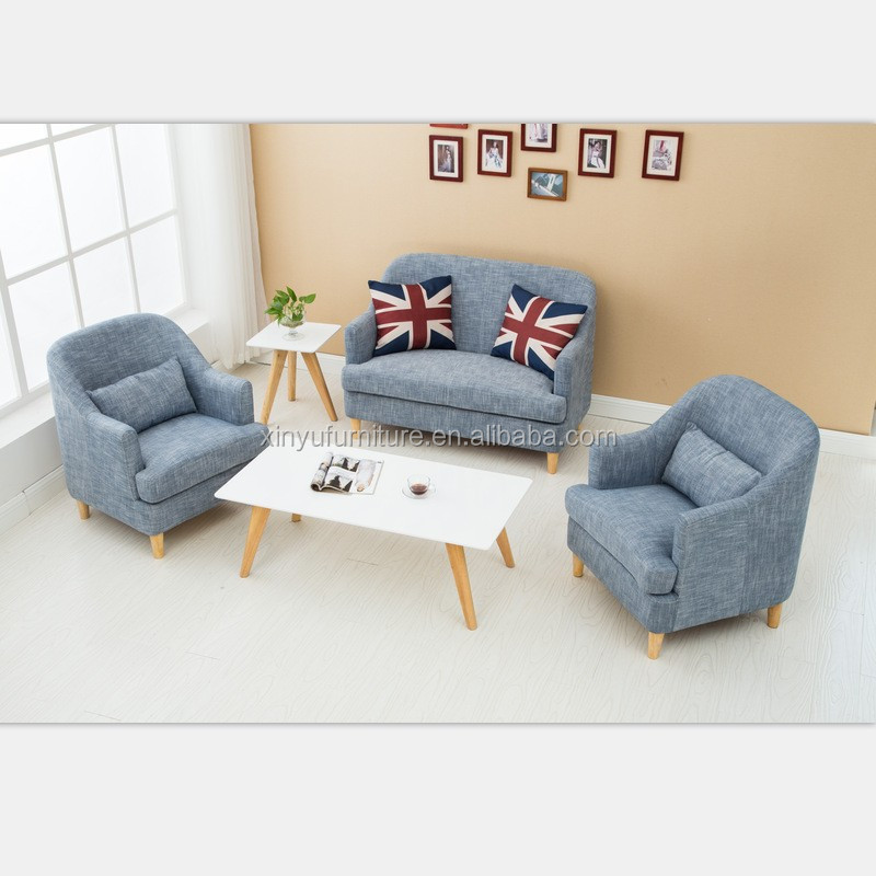Brand New model deep seating sectional fabric sofa set 3 2 1 seat XYN4493