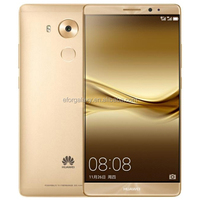 128GB Free Sample 4G original Hot sale HUAWEI Huawei Mate 8 Smartphone,4G 3G cell phone free sample