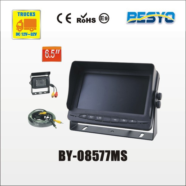 "6.5"" monitor and camera systems BY-08577MS"
