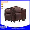 2016 new trendy products luggage wheels 360 degree colorful travel trolley luggage bag