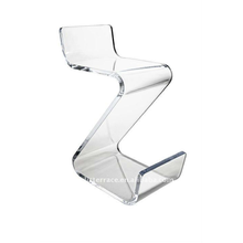 Acrylic Balanced with low back and foot rest Z chair