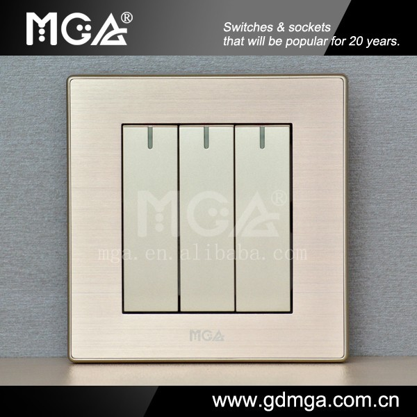 MGA luxury electrical wall switch & general switch company