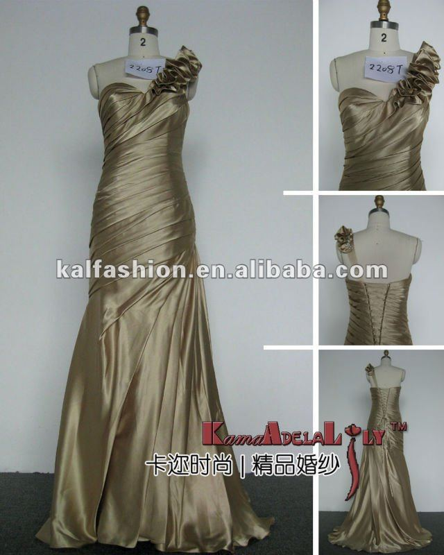 EB2208T New designed elegent figure-hugging evening dress
