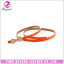 Hot Selling simple design women dress pu belts with good prices