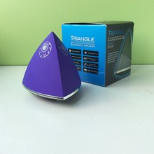 Favorever Triangle shape FM Radio TF Card reader music speaker, Music Line Out - New Fashion sound Pyramid Speaker